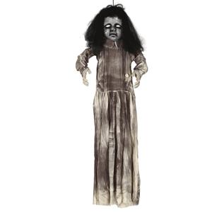 Boneca Zombie Com Luz e Som, 120 Cm