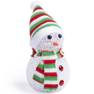 Boneco de Neve Decorativo com Luz
