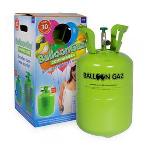 Botija de Hélio descartável, 30 balões