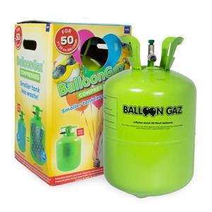 Botija de Hélio descartável, 50 balões