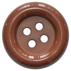 Botão Palhaço Castanho, 7 cm