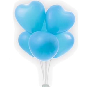 Bouquet de Balões Corações Azul