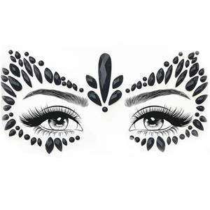 Brilhantes Adesivos Olhos Felinos