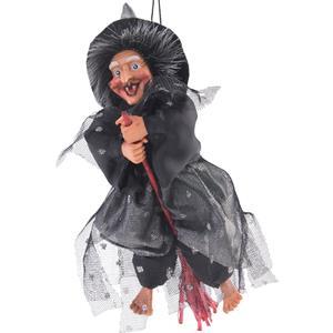 Bruxa para Pendurar Vestido Preto