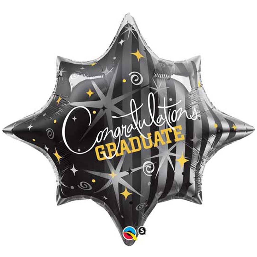 Balão Estrela Congratulations Foil, 71 cm