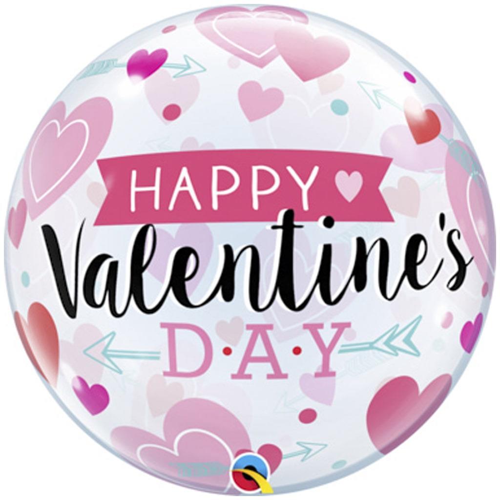 Bubble Happy Valentine''s Day 56cm