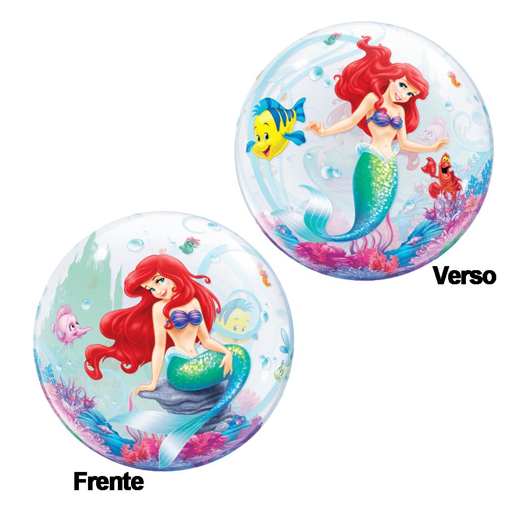 Bubble Pequena Sereia