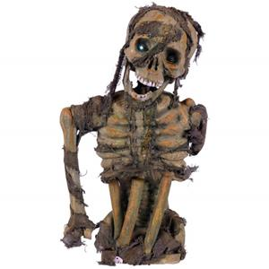 Busto Esqueleto com Luz, 57 cm