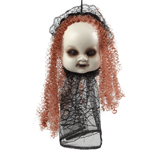 Cabeça Boneca Halloween