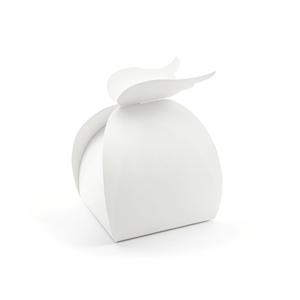 Caixa Brinde Branca com Asas, 10 Unid.