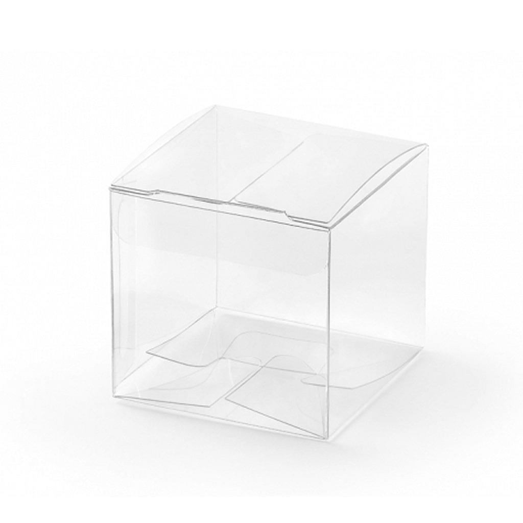 Caixa Brinde Transparente, 10 unid.