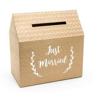 Caixa Just Married para Envelopes