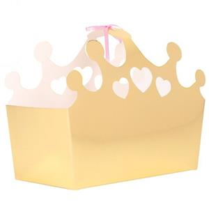 Caixas Douradas Princesa, 17 cm, 5 unid