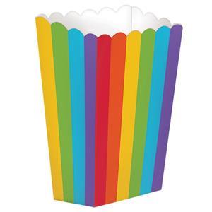 Caixas Pipocas Multicolor, 5 unid.