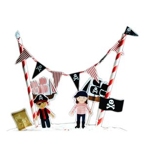 Cake Topper Barco Piratas