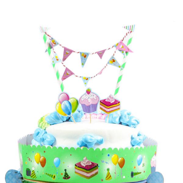 Cake Topper Verde