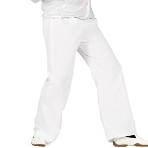 Calças Disco Brancas, Adulto
