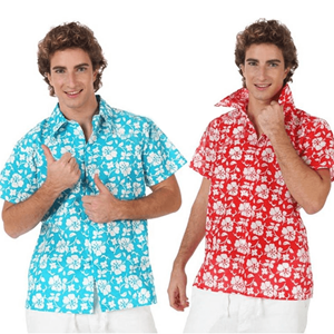 Camisa Havaiana Flores