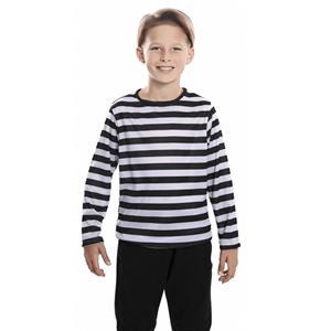 Camisola às riscas pretas e brancas, Criança