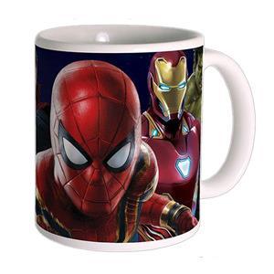 Caneca Avengers Infinity War SpiderMan em Cerâmica