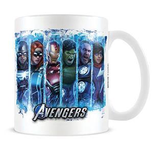 Caneca Avengers Super Heróis em Cerâmica