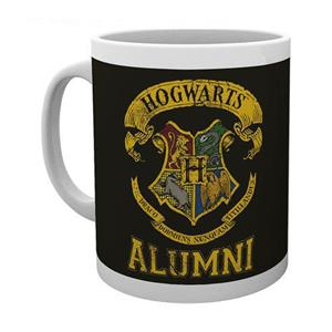 Caneca Harry Potter Hogwarts Alumni em Cerâmica