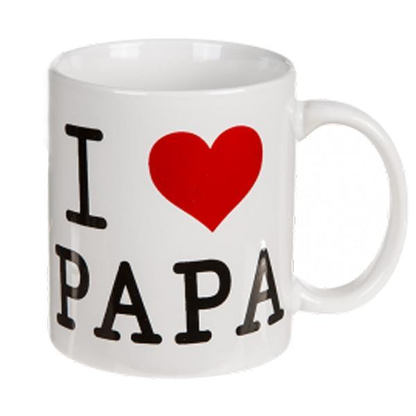 Caneca I Love Papa