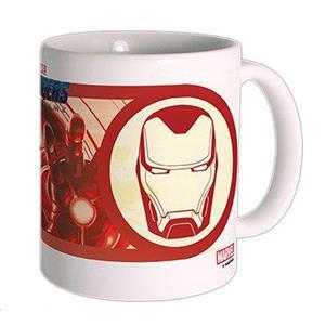 Caneca Iron Man Avengers Endgame em Cerâmica