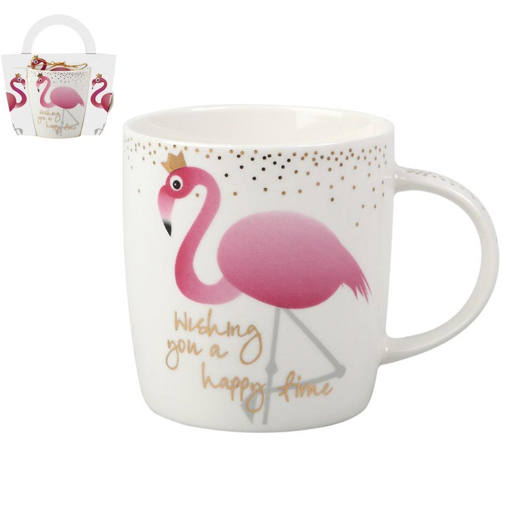 Caneca Princesa Flamingo