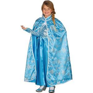 Capa Azul Princesa Frozen, Criança