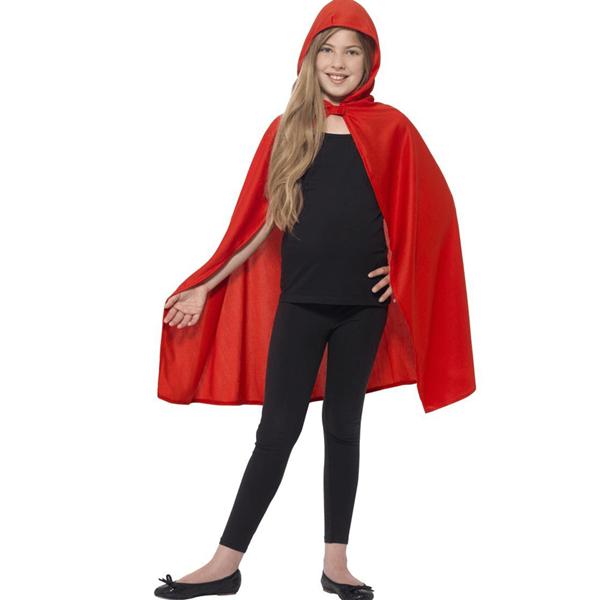 Capa Com Capuz Vermelha, Criança