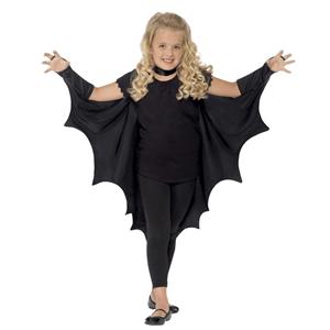 Capa Preta Asas de Morcego, Criança
