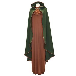 Capa Verde Medieval, Adulto