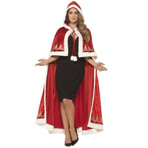 Capa Vermelha de Natal Deluxe