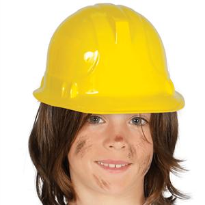 Capacete Construtor Amarelo, Criança