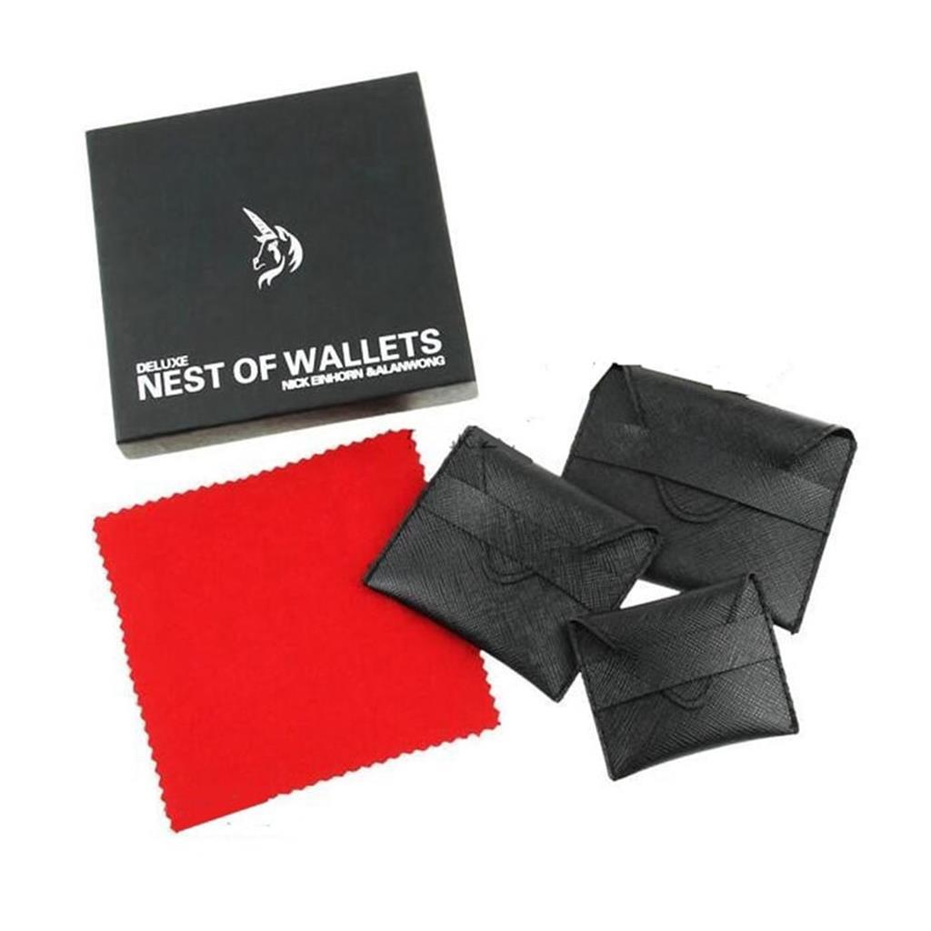 Carteiras Mágicas - Deluxe Nast Of Wallets