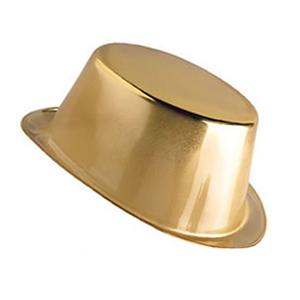 Cartola Metalizada Dourada