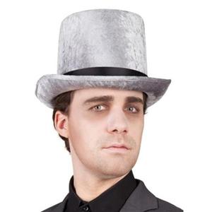 Chapéu Alto Clássico Aveludado