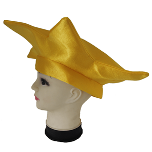 Chapéu Bobo Arlequim Amarelo