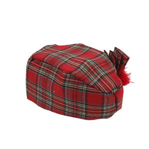 Chapéu Boina Escocês com Laço