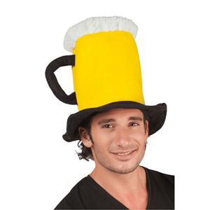 Chapéu Caneca Cerveja, Adulto