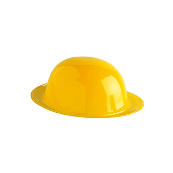 Chapéu Coco Plástico