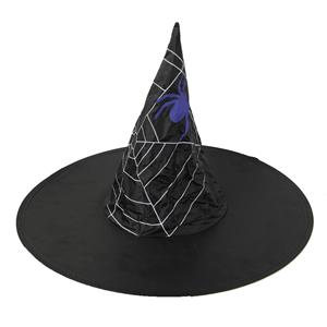 Chapéu Bruxa com Teia de Aranha em Tela
