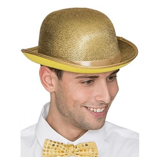 Chapéu Côco Dourado