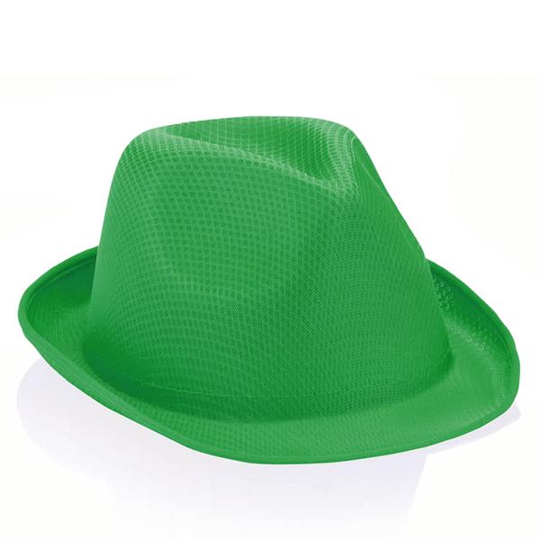 Chapéu Gangster Verde Escuro