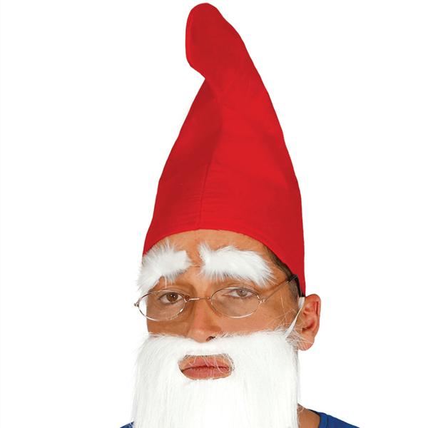 Chapéu Gnomo Smurf Vermelho
