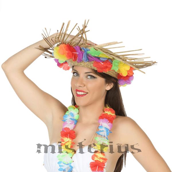 Chapéu Palha Havaiano Flores