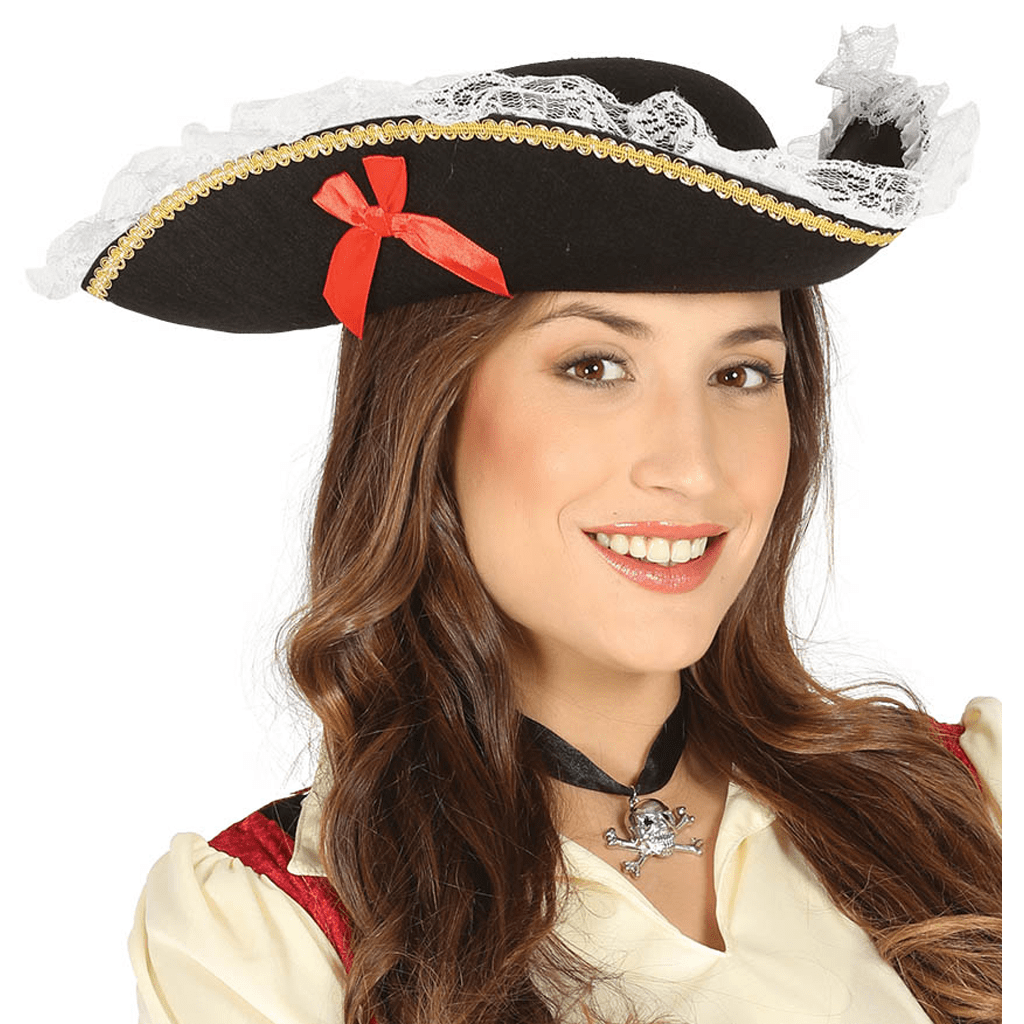 Chapéu Pirata Corsária