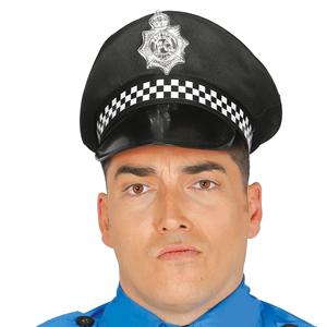 Chapéu Policia Preto
