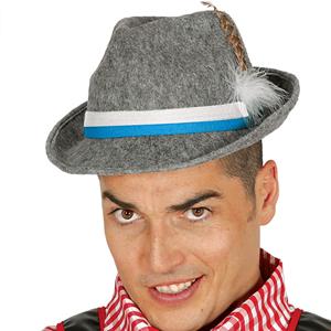 Chapéu Tirolês Cinzento